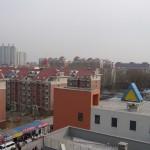 Utsikten från balkongen
